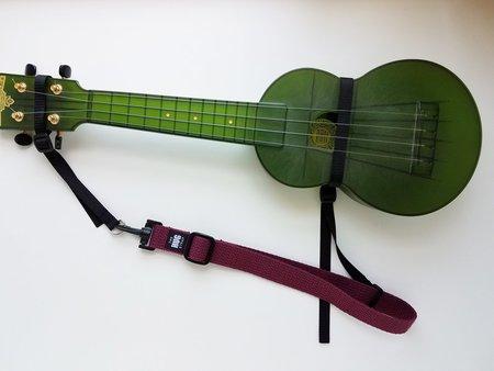 maroon skinny strap